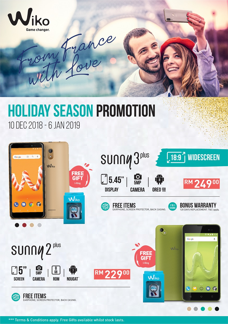 Year End Holiday Season Shopping 2018 Promotion
