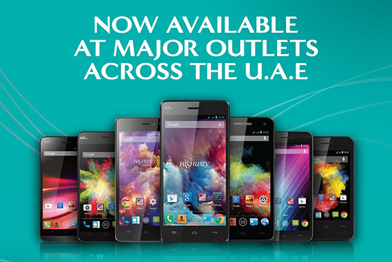 Wiko phone, now available in UAE!