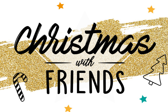 Get Merry this Christmas with friends