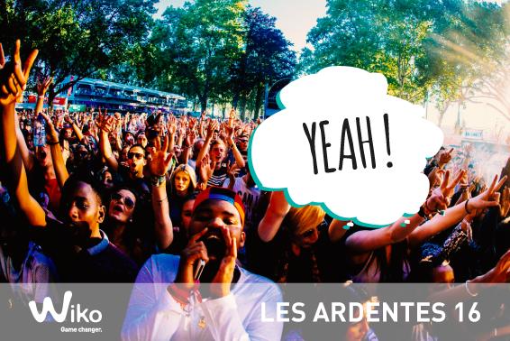 Wiko - Les Ardentes 2016 GO !