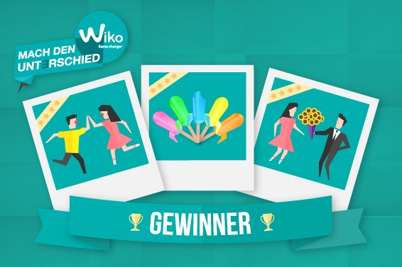 Mach den Unterschied mit WIKO! And the winners are…
