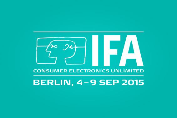 BERLIN CALLING! Wir verabreden uns auf der IFA vom 4. bis 9. September 2015