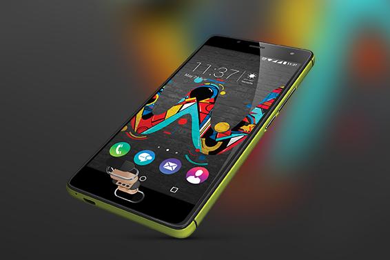 Fingerprint button: Das Smartphone mit deinen Fingerabdrücken