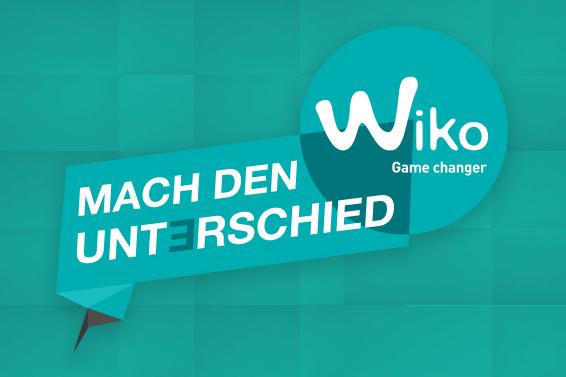 Mach den Unterschied mit WIKO!