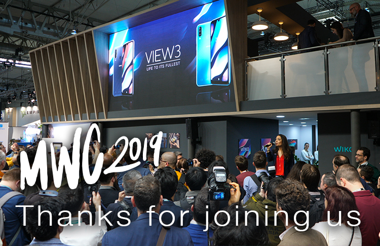 Merci depuis le Mobile World Congress 2019!