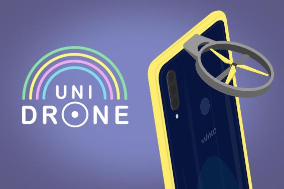 Wiko révolutionne les selfies avec UniDrone