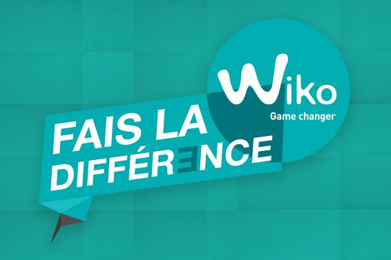Fais la différence avec WIKO!