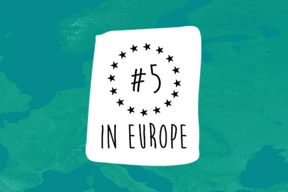 È il momento di festeggiare! Siamo appena entrati nella TOP 5 in Europa!