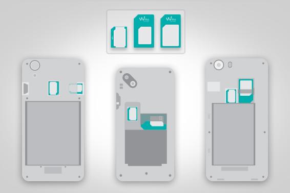Nano, Micro, Mini SIM: adattatori WIKO per ogni esigenza!