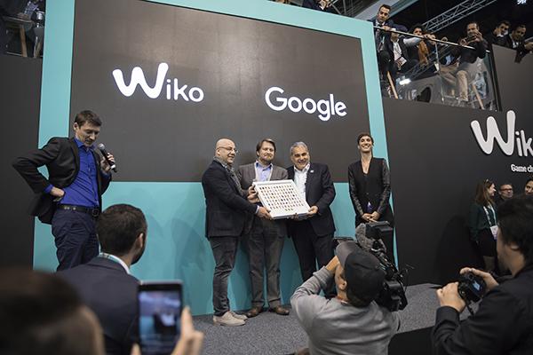 Wiko reçoit une distinction de Google
