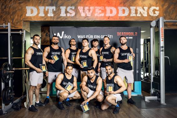 Wiko McFit Mens Fitness Challenge 10