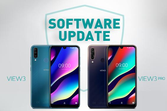 Neue Wiko Updates: View3 Serie erhält aktuelle Software