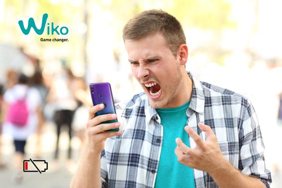 Wiko leerer Akku im Smartphone