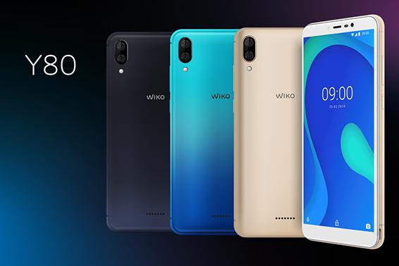 Wiko Y80: Octa-Core-Prozessor, Android 9, starker Akku und Dual-Kamera für unter 100 EUR