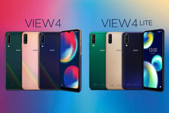 WIKO rüstet das Einsteigersegment auf: Neues VIEW4 Smartphone ab 24.02. erhältlich