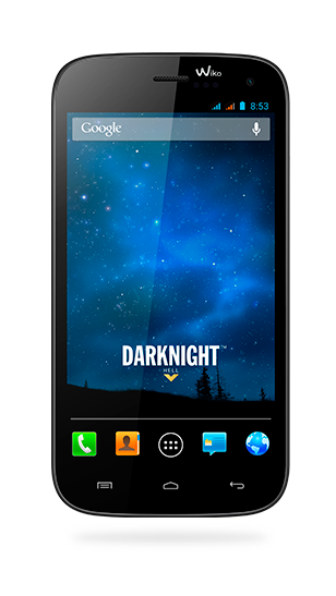 DARKNIGHT displayed from front and back view