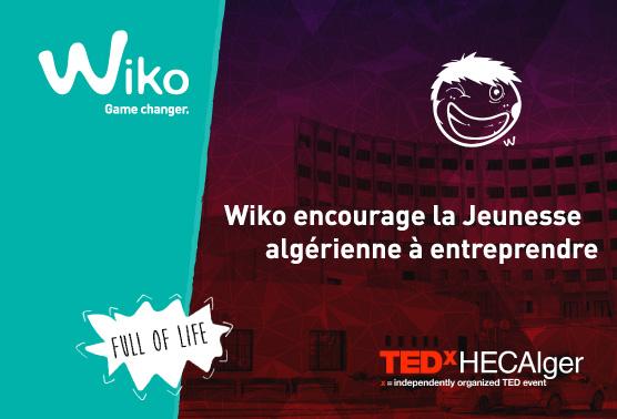 WIKO الممول الرسمي لـ TEDx HECAlger