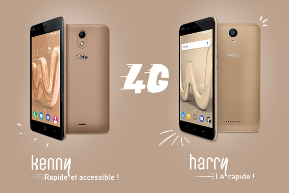 Harry و Kenny: هاتفين ذكيين 4G سريعين ومتاحين للجميع!