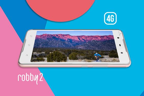 الهواتف الذكية بتقنية الجيل الرابع 4G من ويكو، Robby2 ينظم للعائلة!