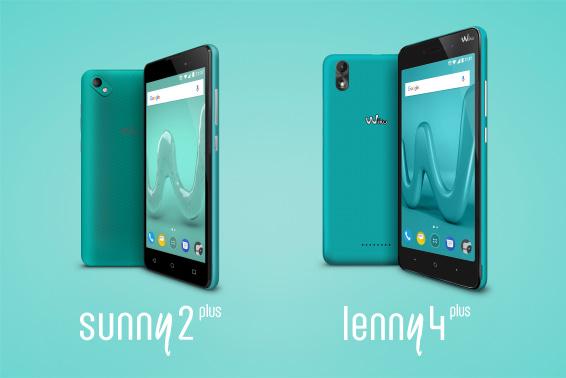 Sunny2 Plus & Lenny4 Plus smartphones Wiko Mobile Algérie