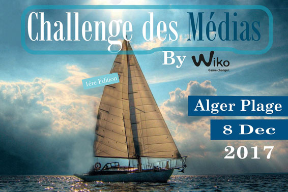 Wiko Mobile Algérie - Sport Voile - Challenge des Médias - Compétition sportive