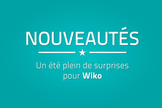 Nouveautés Wiko
