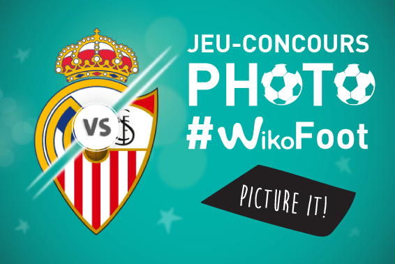 Jeu-concours photo WikoFoot ! Gagnez un smartphone Wiko View Prime !
