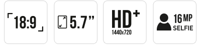 VIEW - 16 + 3GB main specifications