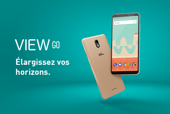 Wiko View Go : un smartphone à écran borderless accessible !