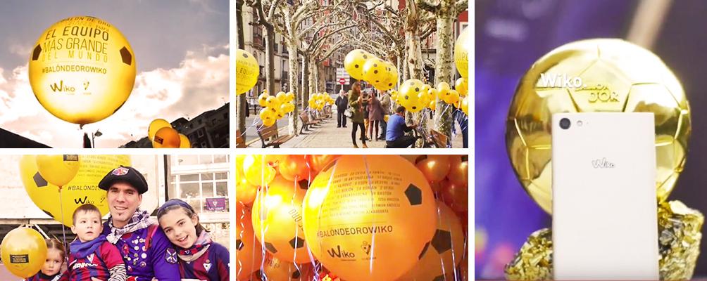 Banner balón de oro Wiko