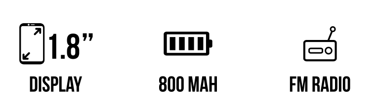 F100 main specifications
