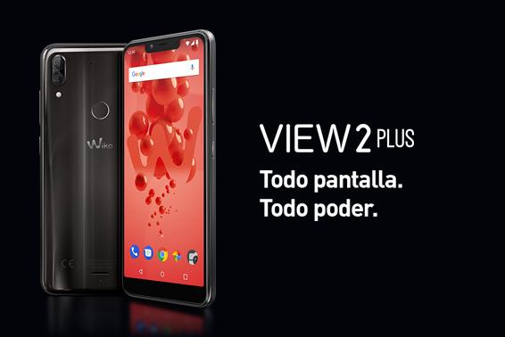 View2 Plus: Todo pantalla. Todo poder.