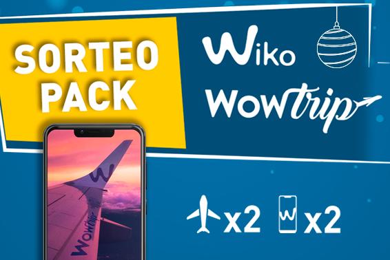 Sorteo Wiko Wow Trip