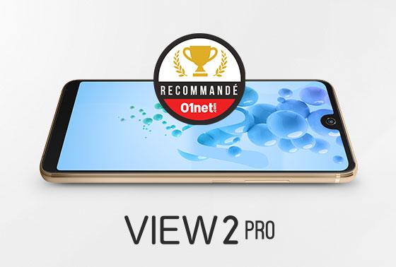 Le View2 Pro testé et recommandé par les lecteurs 01net !