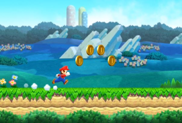 SUPER MARIO RUN SUR SMARTPHONES ANDROID !