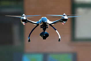 DES DRONES QUI VOIENT A TRAVERS LES MURS GRACE AU WI-FI