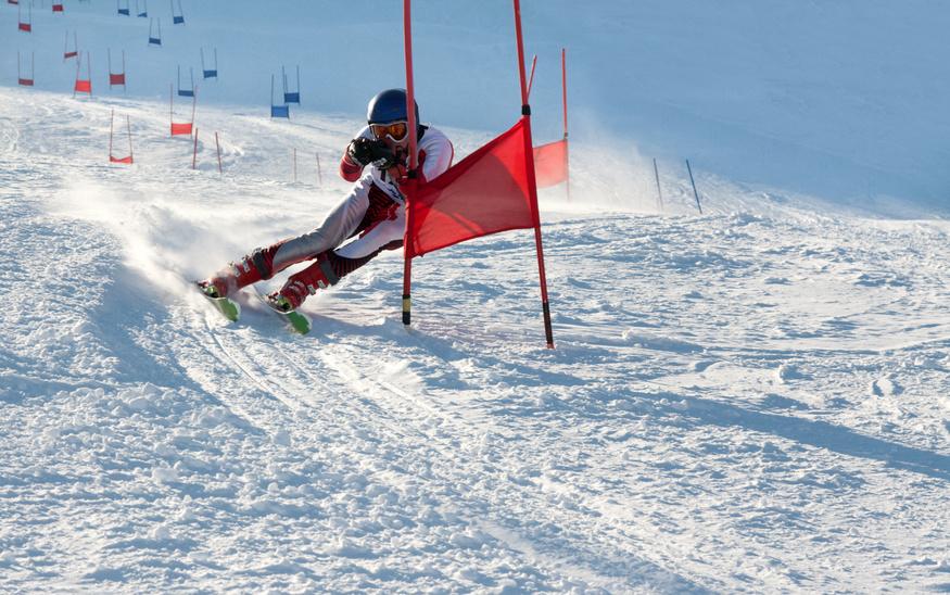 Les premiers robots skieurs se sont « affrontés » aux JO