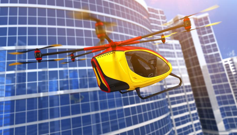 Le drone – taxi Ehang 184 transporte ses premiers passagers