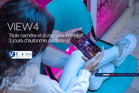 SmartViser certifie 3 jours d'autonomie du Wiko View4 !