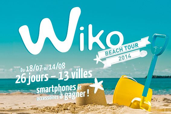 Wiko Beach Tour 2014