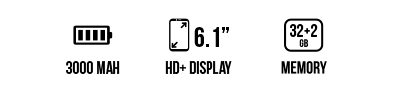 Y62 (32+2GB) main specifications