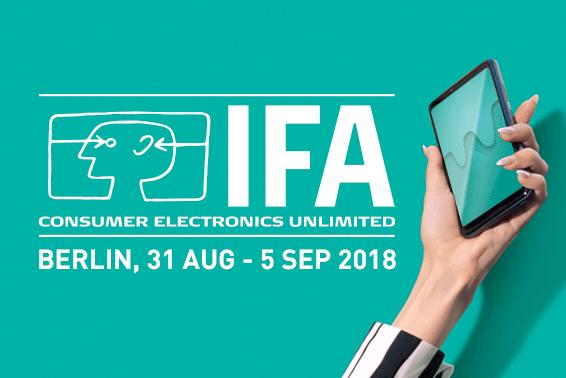 Έτοιμοι για την IFA2018!