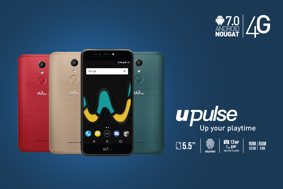 Upulse. Up your playtime!