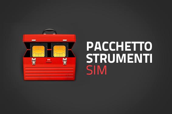 Pacchetto strumenti Sim