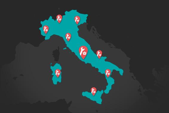 Punti di Raccolta Wiko Italia