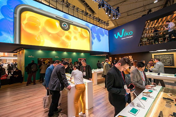Wiko al Mobile World Congress 2018 di Barcellona: tutte le novità di quest'anno