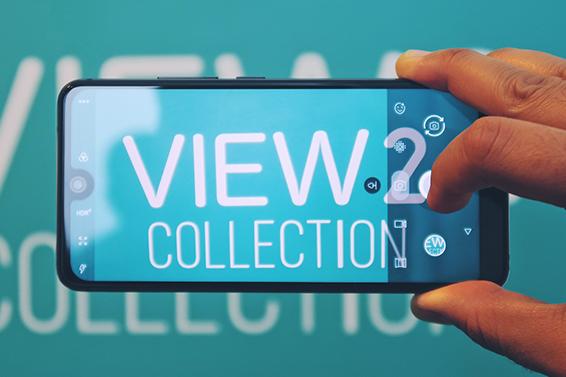 L'evento per il lancio della View2 Collection