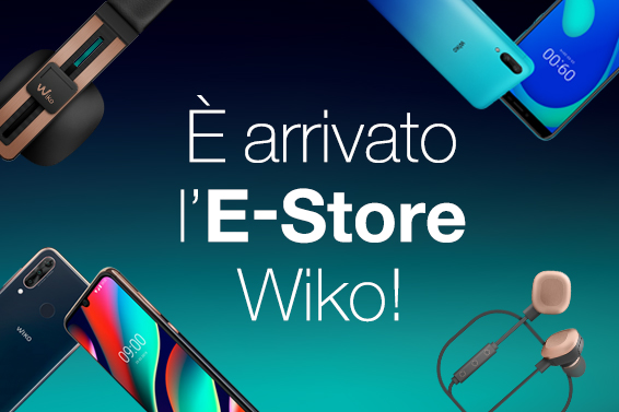 Wiko lancia l'E-Store