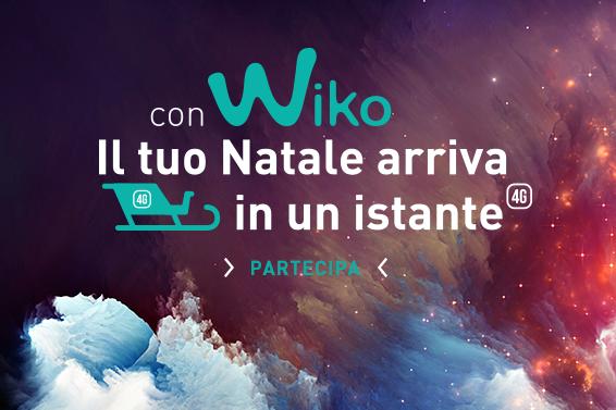 Il tuo Natale in un istante con WIKO!