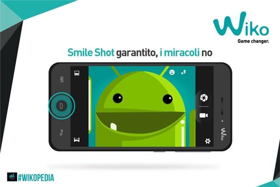Come si scatta uno SmileShot con il mio WIKO?